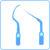 Ultrasonic tips icon