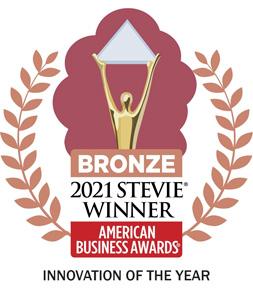 2021 Stevie Award Winner - Innovation of the Year