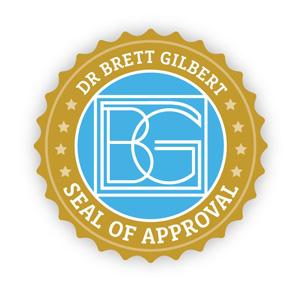 Dr. Brett Gilbert Seal of Approval