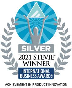 2021 Stevie Winner - Achievement in Product Innovation